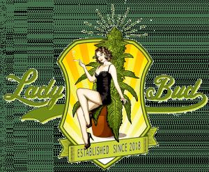 Lady bud logo